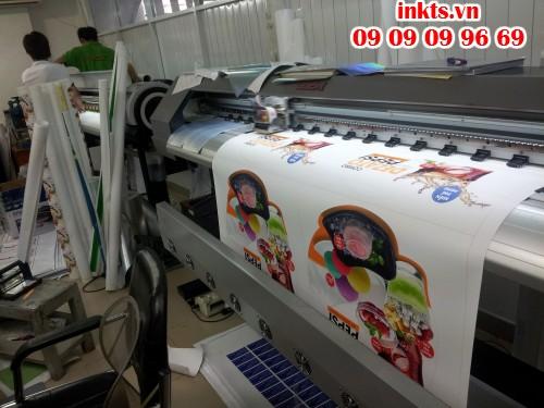 InKTS sử dụng máy in Nhật Bản hiện đại trực tiếp in ấn poster PP, in mực nước hoặc mực dầu theo yêu cầu khách hàng