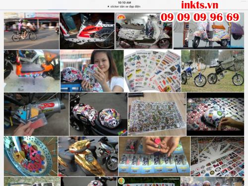 Chọn in tem dán xe chất liệu decal với đa dạng mẫu mã mang lại cho chiếc xe đạp điện của bạn sự mới mẻ và phong cách độc đáo
